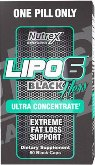 Nutrex - Lipo-6 Black Hers Ultra Concentrate,   60capsules